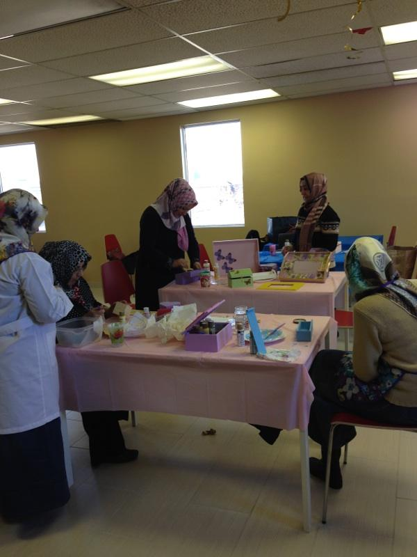 Wood Painting Class at Turkish Cultural Center Bergen | Turkish